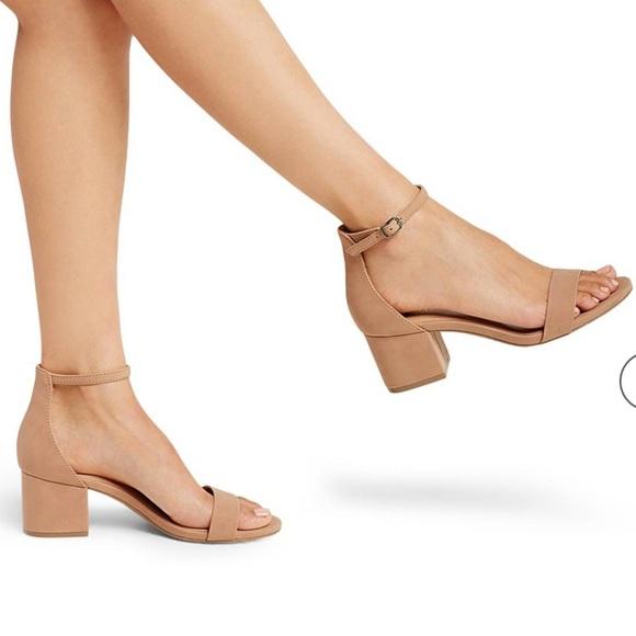 0b023b0993c Women s Marcella Low Block Heel Pumps Ankle Straps